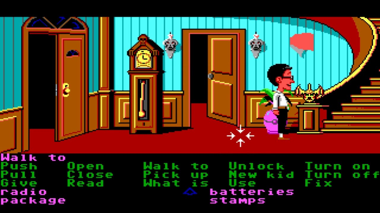 how to play maniac mansion