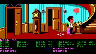 Maniac Mansion walkthrough