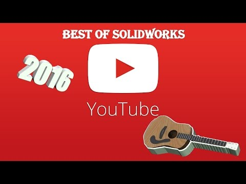 SOLIDWORKS Acoustic Guitar TUTORIAL