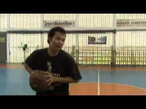 ทักษะบาสเกตบอล2การรับและการส่งบอล