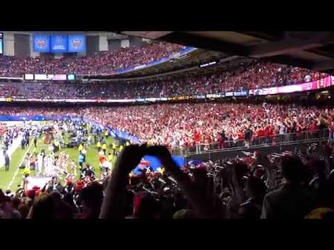 OSUMB 01 01 2015 Final Play of the game then Sloopy Swag Fight the Team Carmen Ohio at Sugar Bowl