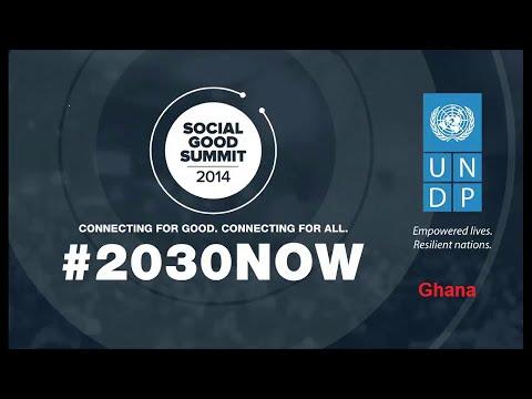 Social Good Summit 2014 in Ghana