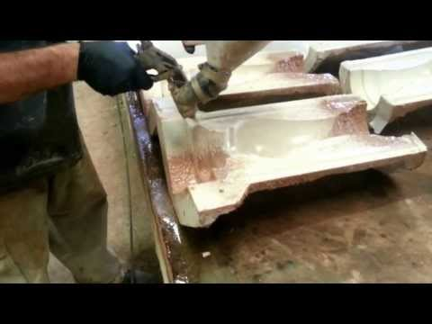Making a GFRC precast concrete baluster