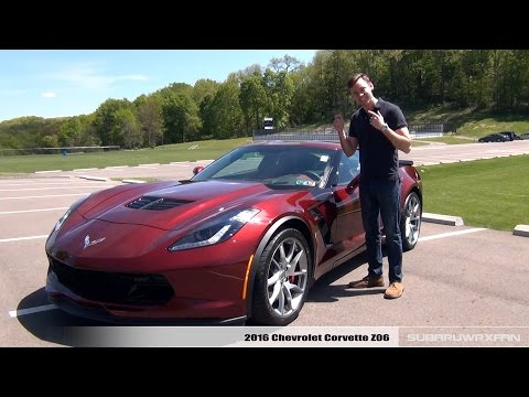 Review: 2016 Corvette Z06 (Manual Coupe and Auto Convertible)