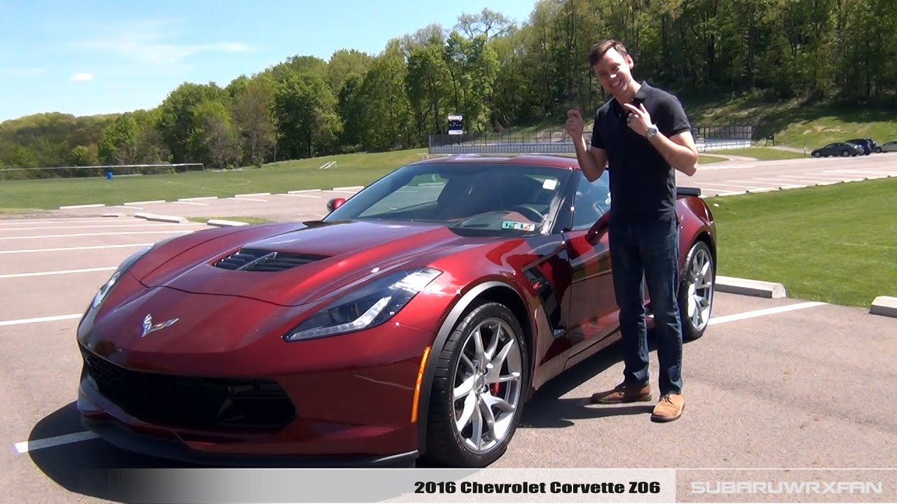 Review 2016 Corvette Z06 Manual Coupe And Auto Convertible