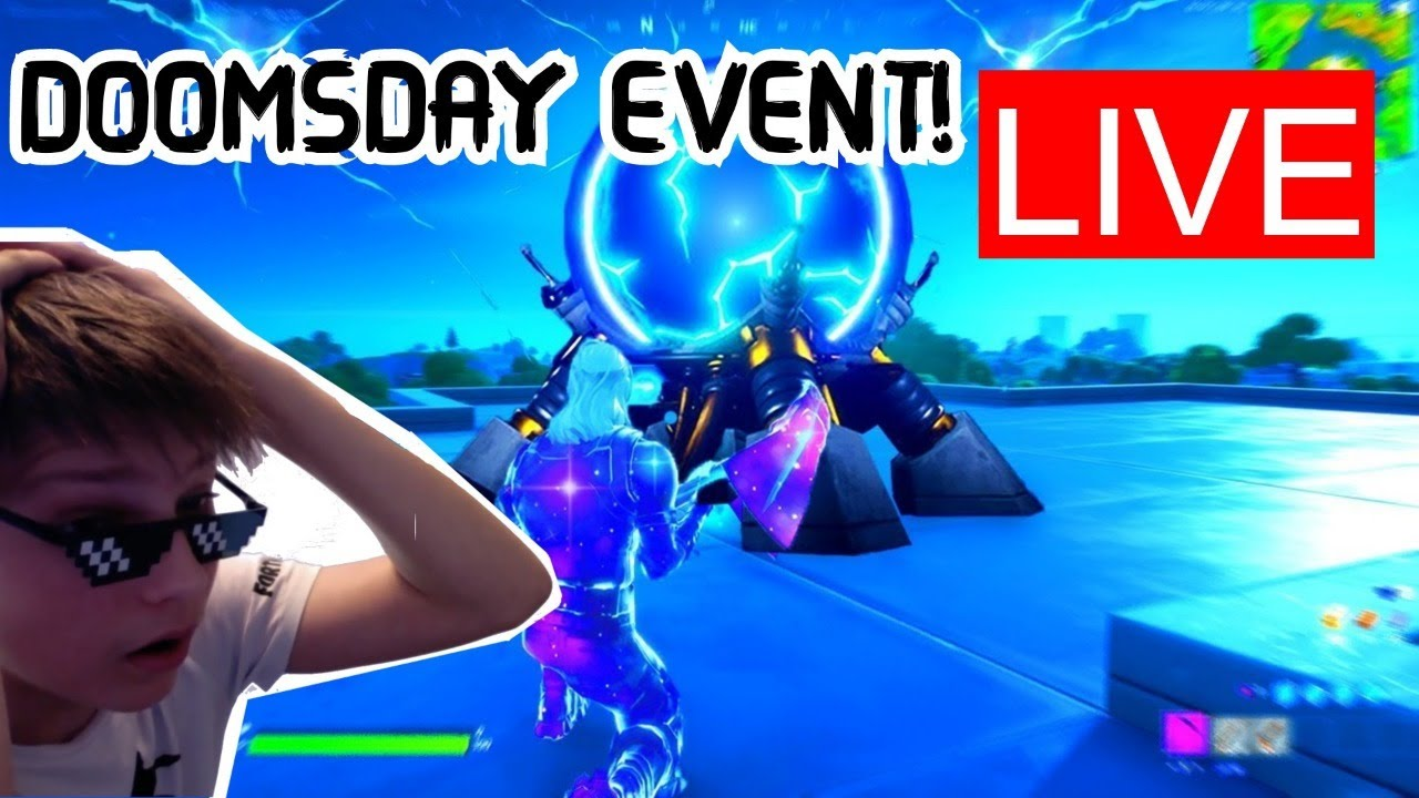 FORTNITE DOOMSDAY EVENT LIVE ADDING VIEWERS