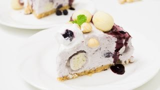 Blueberry n Rasgulla Cheesecake with Hazelnuts Recipe | #FusionDiwali