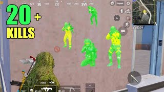 THIS HAPPENED WHEN 4 ENEMIES PUSHED ME   PUBG MOBILE