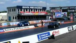 AG Motorsport Focus V's OddKidd Creations XR3 @ Santapod Drag Fast Ford WRC RALLY 9sec drag