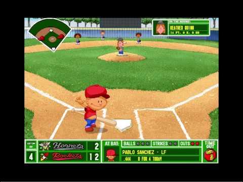 lets play backyard baseball pc 1997 part 16 back where