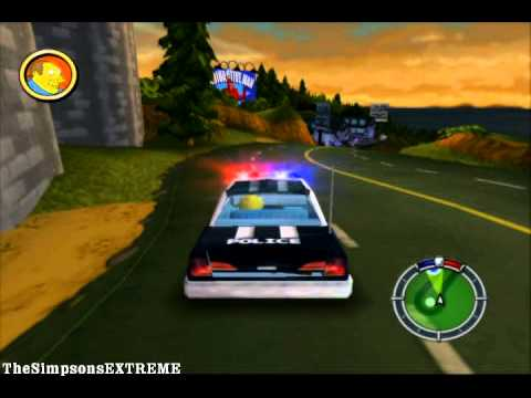 The simpsons hit run upgrade police car youtube - Police simpsons ...