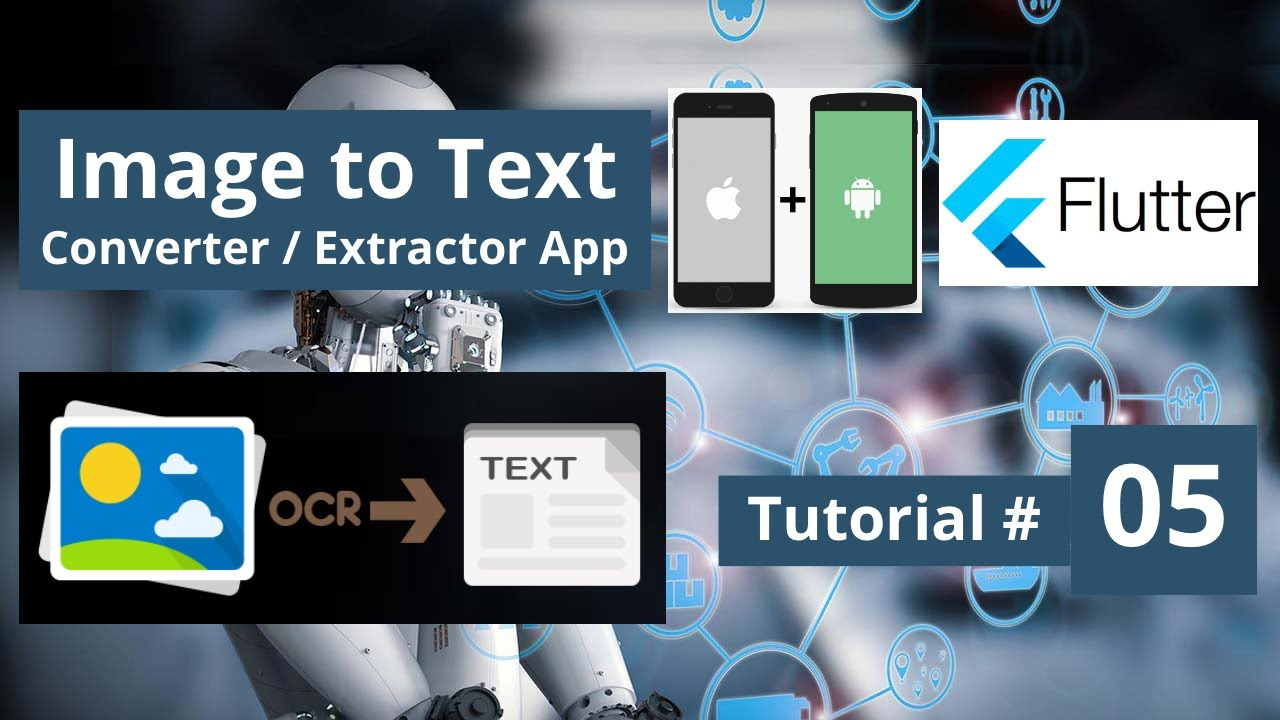 Flutter Image Text Recognition App - Android & iOS Ai Mobile Machine Learning Deep Learning Course