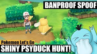 Shiny Hunting Psyduck! Pokemon Let's Go