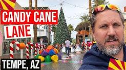 Tempe, Arizona: Tempe Marketplace Candy Candy Lane (Christmas in Phoenix, Arizona)