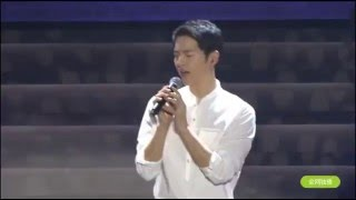 Скачать 160521 송중기 Song Joong Ki FM Sing Always Descendants Of The Sun OST 태양의 후예OST