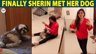 SHERIN Spending time with her Dog | Bigg Boss 3 | Tharshan | LittleTalks
