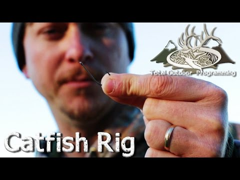How To Set Up A Fishing Rig For Lake / Pond Catfish -  TOP How To Series