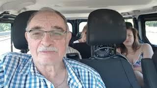 Jo Mallel  Viareggio To Florence Ilan driving 9 August 2018