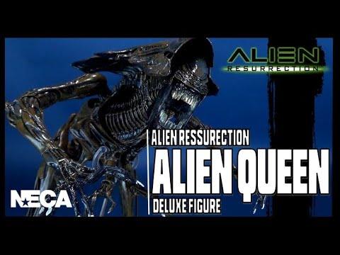 NECA Alien Resurrection Alien Queen | Video Review #HORROR