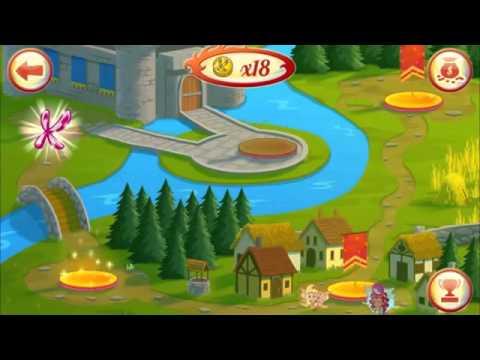 Игра Винкс приключения Баттерфликс на андроид
