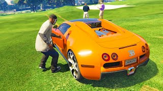 GTA 5 Stealing Super Cars with Franklin #3 (GTA 5 Stealing Expensive Cars)
