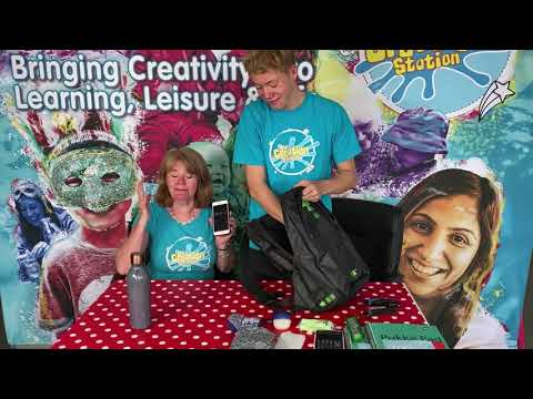 GUINNESS WORLD RECORDS top tips from The Creation Station – Fastest time to pack a school bag