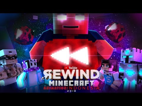 Youtube Rewind Minecraft Animation Indonesia 2018 = Darkness =