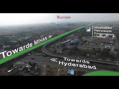 Mahindra Bloomdale Drone Tour Aerial Video Nagpur