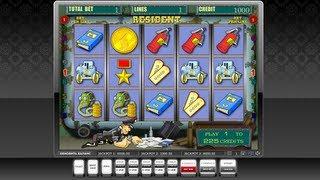 Слот игра RESIDENT(Игра: RESIDENT Описание: 9 линий, бонус и супер бонус игра. Имеется огнетушитель http://re-casino.ru/ - система управления..., 2013-03-08T13:43:03.000Z)