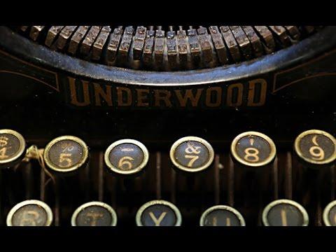 Vintage typewriters get new life