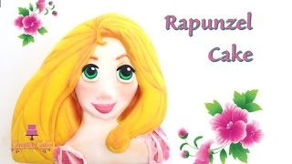 How to make a Rapunzel cake from Creative Cakes by Sharon