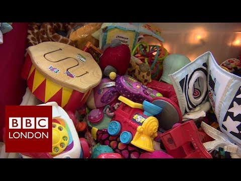 Recycling unwanted toys - BBC London