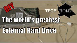 Building a custom external USB drive - TechHole Productions