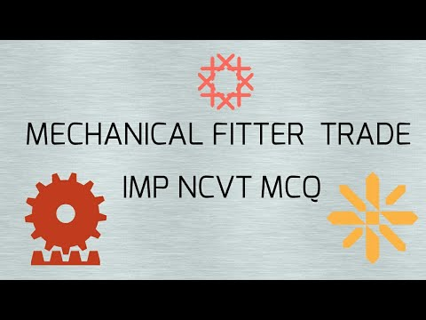 MECHANICAL FITTER TRADE IMP NCVT MCQ