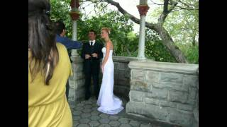 Wedding in New York City - Belveder Castle, Central Park