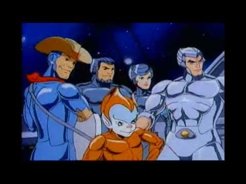 Silver Hawks cartoon opening