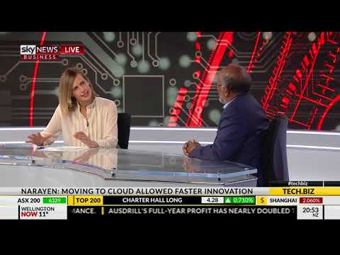 Shantanu Narayen interviewed on Sky News Australia