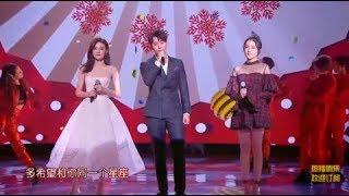 2019江苏卫视猪年春晚《新年快乐》秦俊杰、徐璐、张可盈