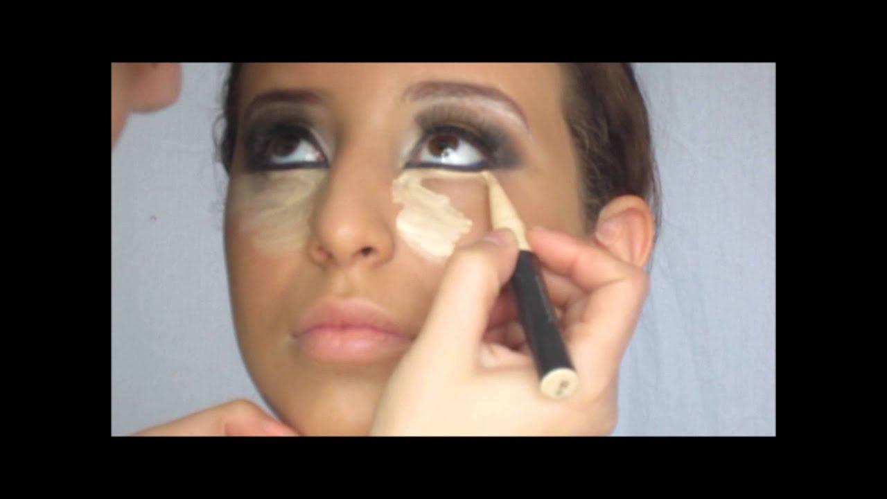 Visagiste Zakia Goud Zwart Arabische Make Up Youtube