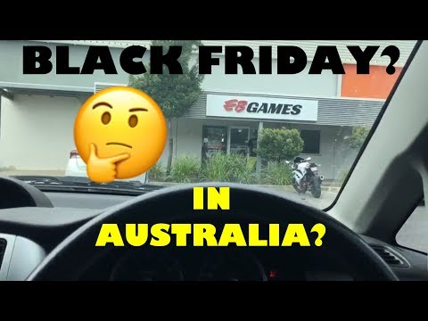 Black Friday Deals in Australia?