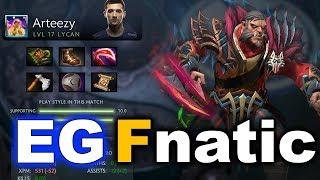 EG vs FNATIC - 15 Min Fastest GG! Brutal Elimination - TI7 DOTA 2