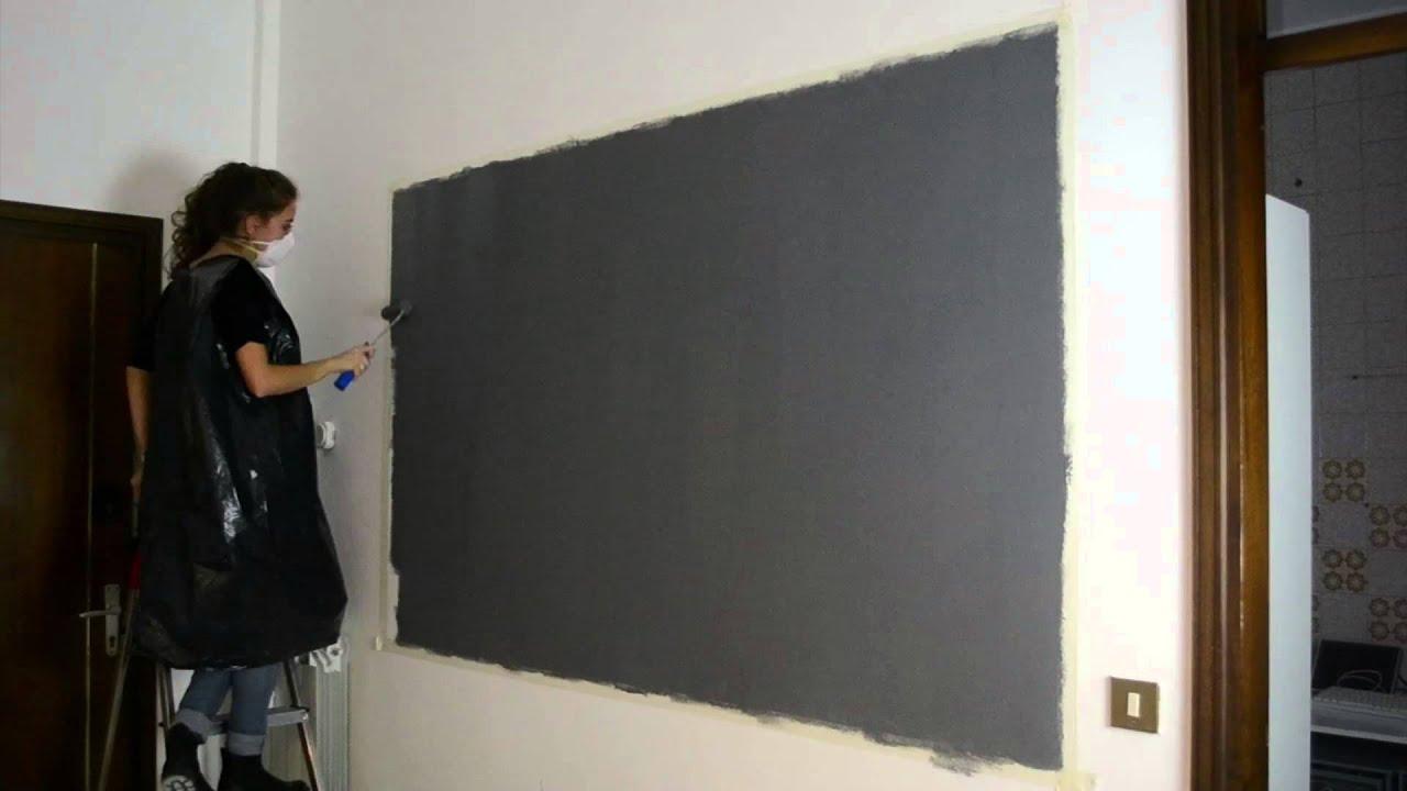 Progetto parete lavagna magnetica youtube - Parete lavagna cucina ...