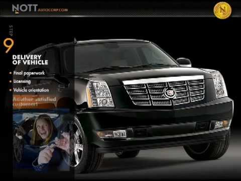 Nott Autocorp Calgary New and Used Luxury Exotic Import Canada USA Car Custom Order Presentation