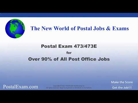 How To Easily Pass Postal Exam 473/473E (With USPS Practice Test Questions!)