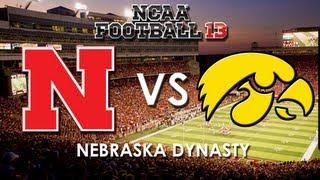 NCAA 13: Nebraska Cornhuskers vs. Iowa Hawkeyes
