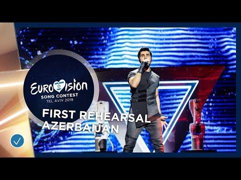 Azerbaijan 🇦🇿 - Chingiz - Truth - First Rehearsal - Eurovision 2019