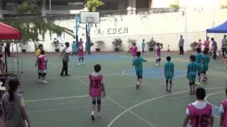 新界東小學閃避球男子決賽 教院賽小VS曾梅千禧學校(1) 2