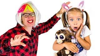 Няня и история забавных детей