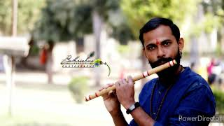 Man udhan waryache ( मन उधाण वाऱ्याचे) trying to play flute