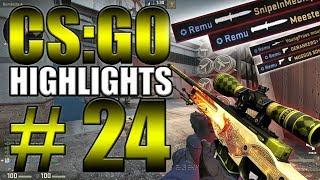 1V5 CLUTCH, INSANE PISTOL ROUND & MORE! (CS:GO Highlights #24)